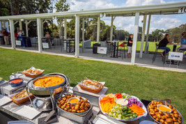 Toptracer Range event catering