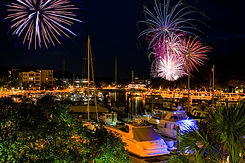 Shelter Cove Hilton Head Island Fireworks