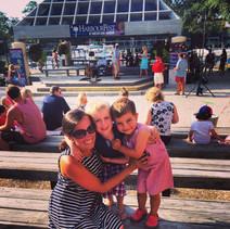 Family at HarbourFest