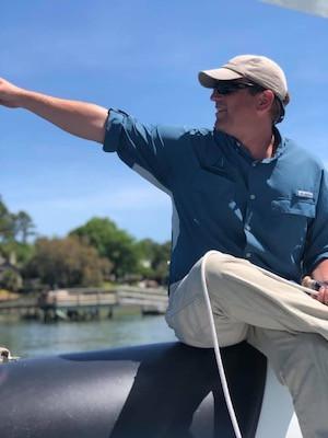 Salt Marsh Sailing Captain Brad