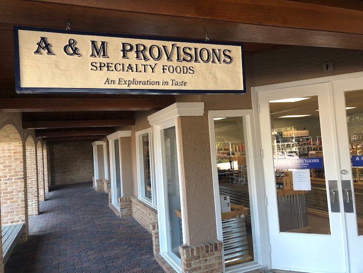 A&M Provisions Exterior SIgn