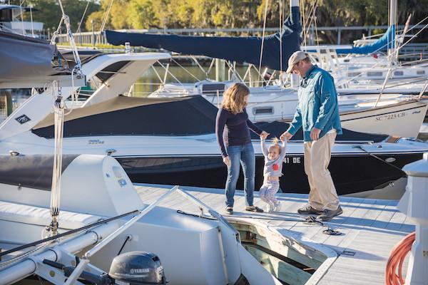 Family Friendly Salt Marsh Sailing Charter
