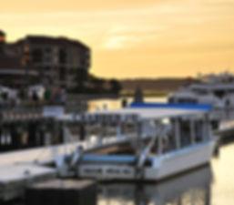 Docked Crabbing Boat