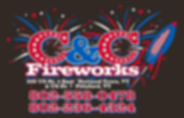C and C Fireworks Logo