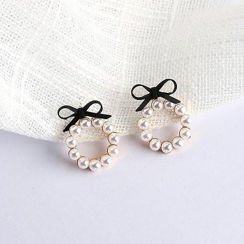 orecchini donna con perline