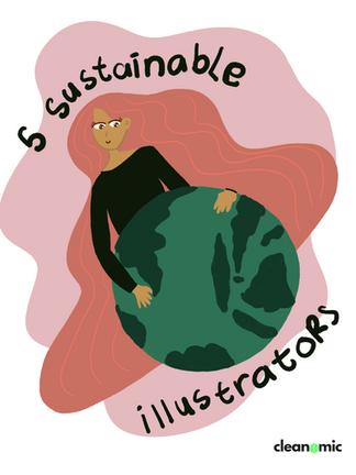5 Akun Sustainable Illustrators