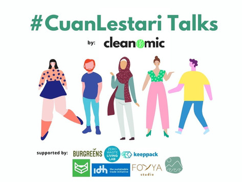 #CuanLestari Talks by Cleanomic