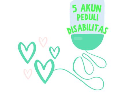 5 Akun Mendukung Disabilitas