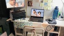 #MinisponsibleHouse Diary: WFH Desk Setup | Minimalist, Recycled and Upcycled
