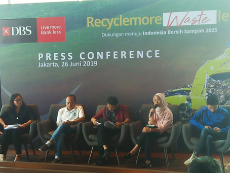 Recycle More, Waste Less Bersama Bank DBS Indonesia