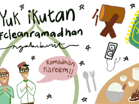 Yuk ikutan #CleanRamadhan ngabuburit (Re-Updated)