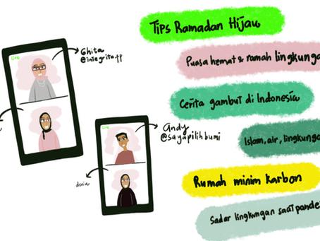 Cerita dari #Cleanramadan Ngabuburit