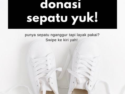 Donasi Sepatu Yuk!