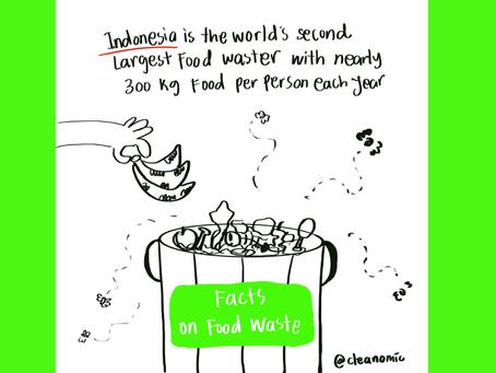 Sampah Makanan di Indonesia