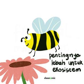 Pentingnya lebah untuk ekosistem