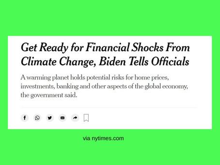 Dampak finansial dari krisis iklim