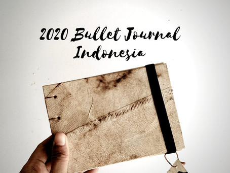 Bullet journal set up di tahun 2020