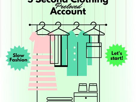 5 Akun second Clothing