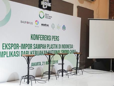 Situasi Ekspor dan Impor Sampah Plastik di Indonesia