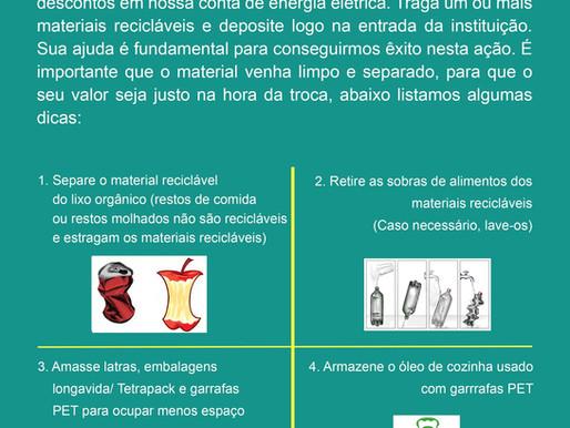 Parceria Light Recicla - Você pode ajudar!