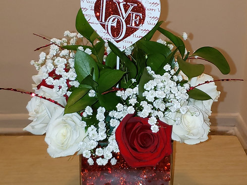 Valentine's Bouquet Arrangement