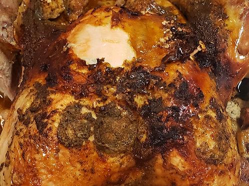 Baked Chicken Dinner for 6