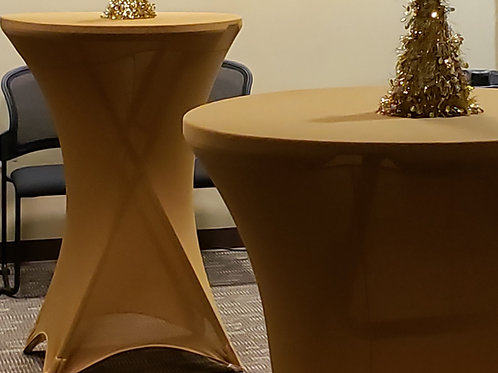SPANDEX TABLECOVERS