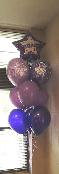 Graduation Balloon Tree