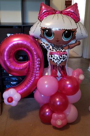 Character balloon display