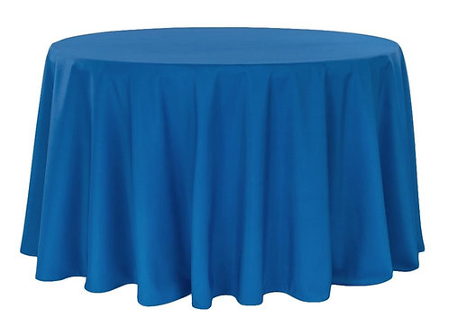 ROUND POLYESTER TABLECOVERS