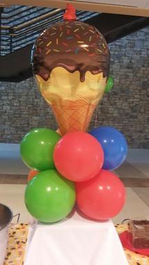 Ice cream centerpiece