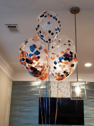 Confetti balloons (minimum 1 dozen)