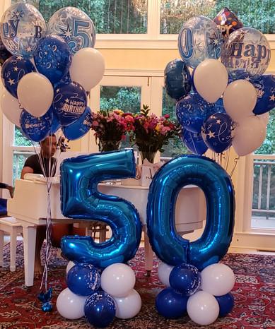 Milestone Birthday Display