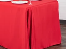 POLYESTER RECTANGLE TABLECOVERS