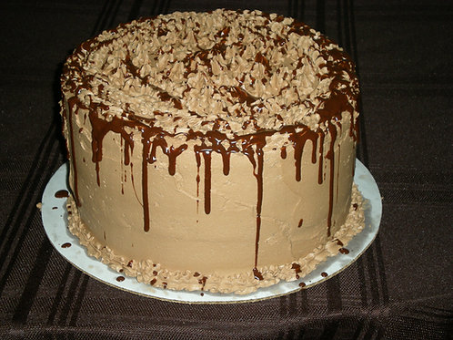 TRIPLE CHOCOLATE DREAM CAKE