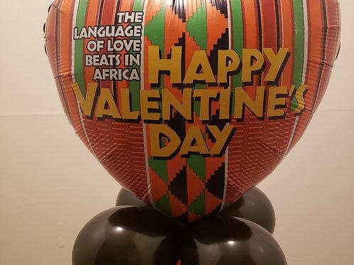 African Valentine Column