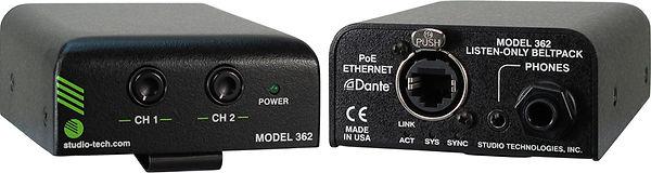 Hire Studio Technologies M362 Listen Only Dante IFB Box