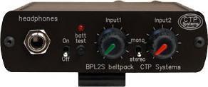 Rent CTP BPL2S dual channel Belt Pack