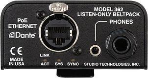 Rent Studio Technologies M362 Listen Only Dante IFB Box