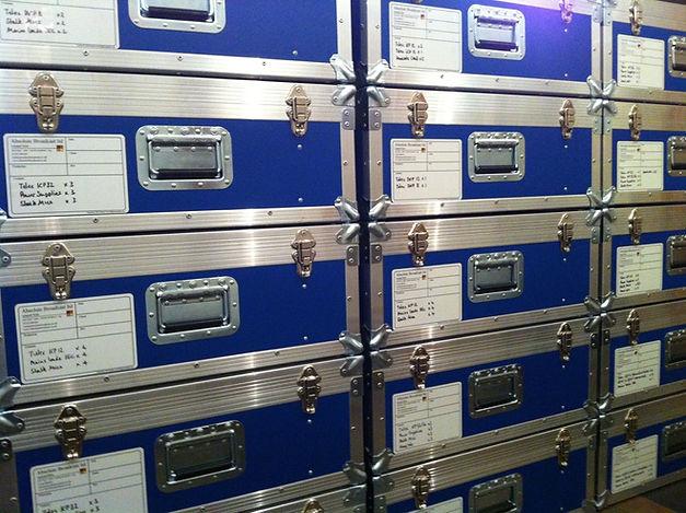 Abslute Broadcast panel flightcases