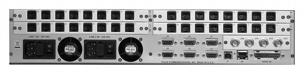 RTS CRONUS rear with RJ12 cards