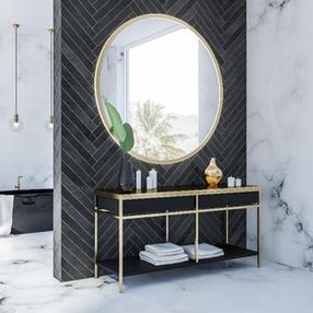 Elegant Bathroom Design, Cork