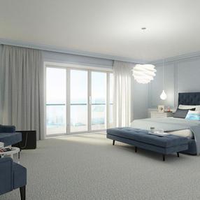 Coastal Hotel Bedroom Design, Waterford