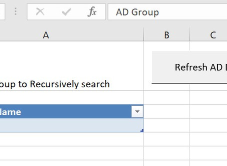 Using PowerQuery to recursively extract data from AD