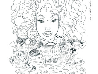 Lyle Omolayo to release COLORING IN COLOUR : VOL 1 HEADS AND LANDSCAPES this winter