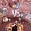 Thumbnail: Balónek koule růžovo-zlatá
