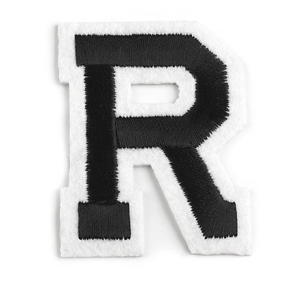 Nažehlovací písmenko R