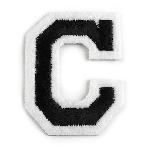 Nažehlovací písmenko C
