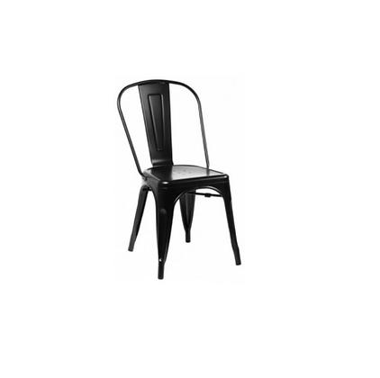 Jídelní židle Tolix - černá