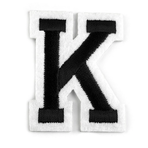 Nažehlovací písmenko K